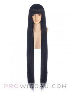 Jase Long Black Wig Cosplay $67