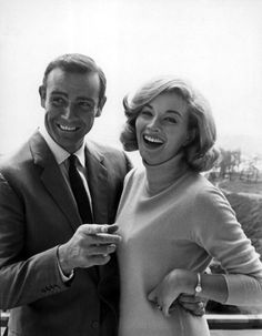 Sean Connery & Daniela Bianchi from Russia with love - my favorite bond film