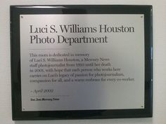 Luci S. Williams Houston Photo Department