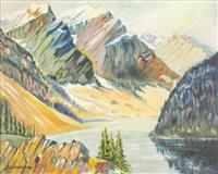 Henrietta Mabel May  Canadian (1884-1971)  columbia river  oil on board  signed  16 x 20 in.  Estimate $ 5,000-8,000