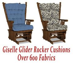 Rocking Chair Ottoman Cushions Ez Posture 17 Best Glider Rocker Images Redo Replacement For Giselle