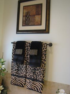 Latest Posts Under Bathroom Decor Bathroom Design - Zebra bath towels for small bathroom ideas