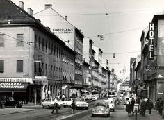 Street View, Places, Pictures, Life, Graz, Historical Pictures, Old Pictures, History, Photos
