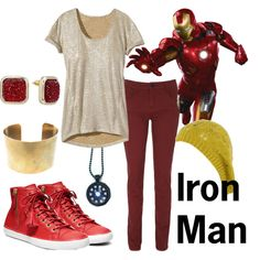 Character: Iron Man Fandom: Marvel Fandom cloths