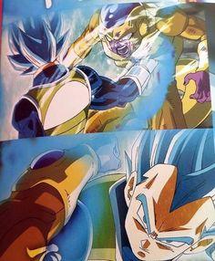 #DragonBall Ƶ La resurrección de #Freezer #DBƵ Fukkatsu no「F」 #DBZ2015 #Vegeta #Dios Super Saiyajín