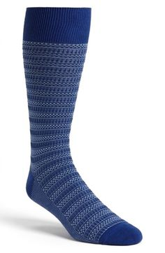 Cole Haan Checker Bands Crew Socks (3 for $27) | Nordstrom