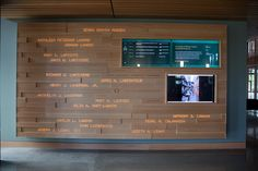 Oregon Entry Wall by Second Story, via Flickr