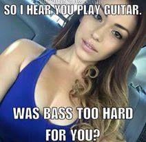 #BassMusicianMag Mark Marxon Meme Monday – Was Bass Too Hard For You @BassMusicianMag