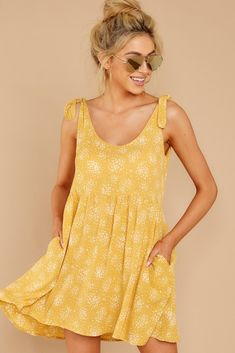 Browse our beautiful dresses in many colors and styles at Red Dress Boutique. Find women's outfits for sale at the lowest prices. Shop for the perfect outfit! Prom Dress Shopping, Online Dress Shopping, Casual Dresses, Short Dresses, Summer Dresses, Fall Dresses, Yellow Dress Casual, Yellow Outfits, Red Wedding Dresses