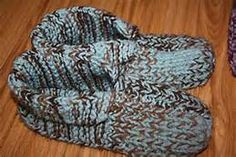 Simple Knit Slipper Patterns - Bing Images