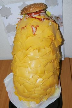 1000 slice of cheese at Burger King Japan.