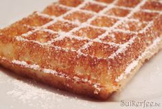 Brussels Waffles recipes (uses yeast). site is Dutch, so use Google translator