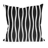 Found it at Wayfair - Wavy Stripe Polyester Throw Pillow