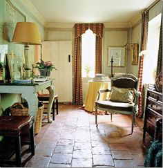 image from Cote de Texas, Nicky Haslam's country house