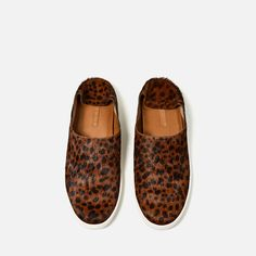Image 6 of PRINTED LEATHER SNEAKERS from Zara