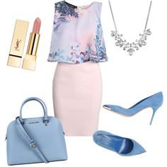 A fashion look from August 2015 featuring Boohoo dresses, Alexander McQueen pumps and Michael Kors handbags. Browse and shop related looks.