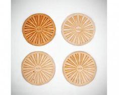 Ace Leather Coasters: Remodelista