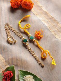 Rakhi Bracelet, Handmade Rakhi Designs, Rakhi Making, Rakhi Online, Fashion Bazaar, Mother Of Pearl Earrings, Rakhi Gifts, Gifts For Brother, Red Earrings