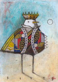Bird King of Hearts by SethFitts on deviantART