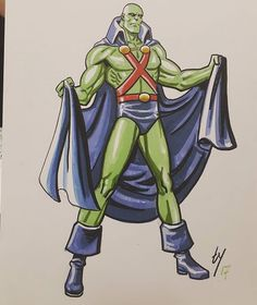 @templeton.ty does an amazing #martianmanhunter #sketch for @boston_comic_con 2017! #art #drawing #artist #illustration #manga #draw #artwork #anime #original #sketchbook #artsy #comics #arts #sketching #drawings #comics #comic #starwars #dc #marvel #superman #batman #spiderman #dccomics #sketches #disney Contact artist for pricing info!