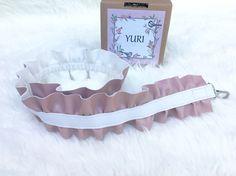 Curly strap bag, strap bag, handmade strap bag, yuri strap bag, dusty strap bag