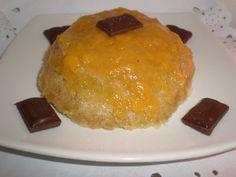 Mini tartita integral con mermelada de melocotón Sencilla, fácil y lista en 8 minutos en el microondas. Ingredientes (para 2...