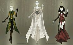 Elven outfits
