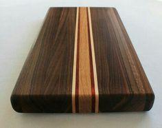 Walnut Cutting Board Medium by OneTreeWoodworking on Etsy Woodworking Workshop, Woodworking Plans, Woodworking Projects, Woodworking Magazines, Wood Shop Projects, Bois Diy, Got Wood, Wood Cutting Boards, Wood Toys