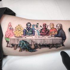 30 Micro Pop Culture Tattoos by Kozo Tattoo Tattoo München, Medusa Tattoo, Big Tattoo, Arm Band Tattoo, Tattoo Drawings, New Tattoos, Cool Tattoos, Friend Tattoos, Mini Tattoos