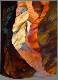how top make a quilt mimik the inside of a slot canyon changed over time - Google Search