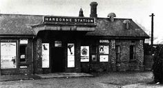 Harborne railway station Harborne railway station was a railway station in England, built by the Harborne Railway and operated by the London and North Western Railway in 1874. In addition to the passenger facilities, there was a goods shed and sidings. It was the terminus of the Harborne Railway, serving the Harborne area of Birmingham and was located just off Station Road. Although for twenty years the line was in the hands of the receiver, passenger traffic rose from six trains a day