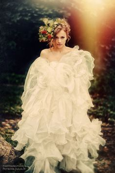 Wedding photographer - Julia Petrova (PETROVA JULIAN).  ART wedding photos.  BRIDE ON NATURE.