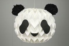 Panda-fy your Paper Lantern...