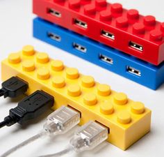 Legos+techy gadgets? Yes!