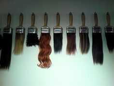cute idea to hang up in a beauty salon!