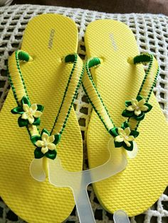 flip flop makeover More Crochet-Butterfly-Sandals-