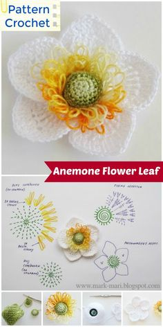 We have showcased here Crochet Flowers with Free crochet flower Patterns that will make every flower lover a big fan! Uses for crochet flowers are Diy Crochet Flowers, Crochet Poppy, Crochet Bouquet, Crochet Puff Flower, Diy Crafts Crochet, Crochet Flower Tutorial, Crochet Flower Patterns, Crochet Gifts, Crochet Motif