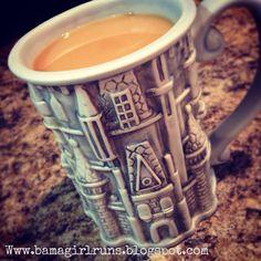 Cinderella Castle Coffee Mug. Disney. #MyDisneyCoffee www.bamagirlruns.blogspot.com