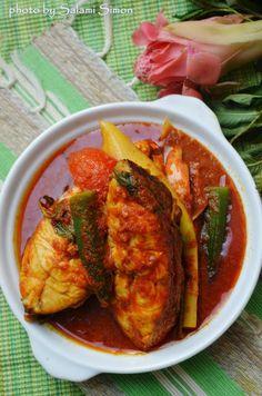 AMIE'S LITTLE KITCHEN: Asam Pedas Ikan Merah