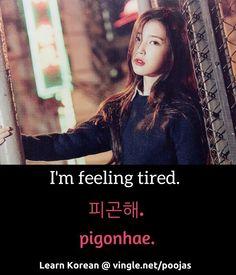 I'm feeling tired                                                                                                                                                                                 Mehr