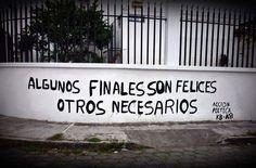 Algunos finales son felices  Otros necesarios  #accion #lavidaesarte