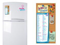 La Lista del Super! Imanes funcionales y decorativos para tu heladera