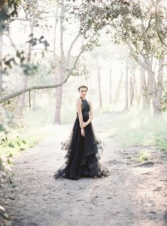 Gown: Philippa Galasso - Australian Bush Wedding Inspiration by Maie Dionisio (Stylist), Styled by Linda (Set stylist) + Fifteen Photography - via Magnolia Rouge