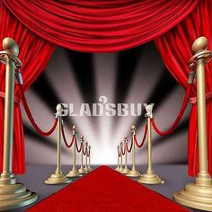 Red carpet Logie or Oscar Theme Birthday Party Banner Sign Hanging Decoration.