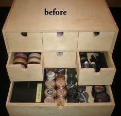 Image result for DIY Makeup Storage Ideas