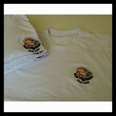 Tshirt em Meia Malha 30/1 Penteada Bordada