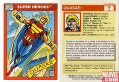 Quasar, Card #15 | Apps | Marvel.com