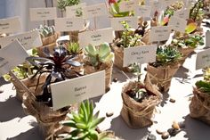 Guests' name cards and favors. Photo by Felici Photo.