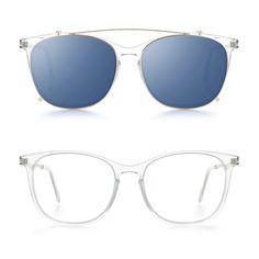 munic - mod. 891-3 col. 81 + clip gold blue mirror