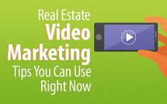Real Estate Videographer / Video Marketing Tips